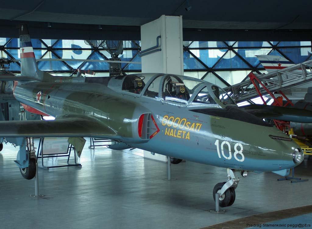 N-60 GALEB Soko-g2-galeb-yugoslav-air-force