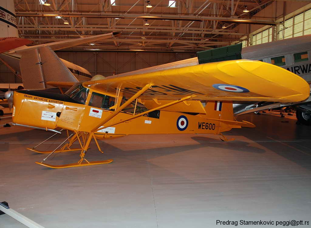 auster-t7-antartic-raf-museum-cossford-england