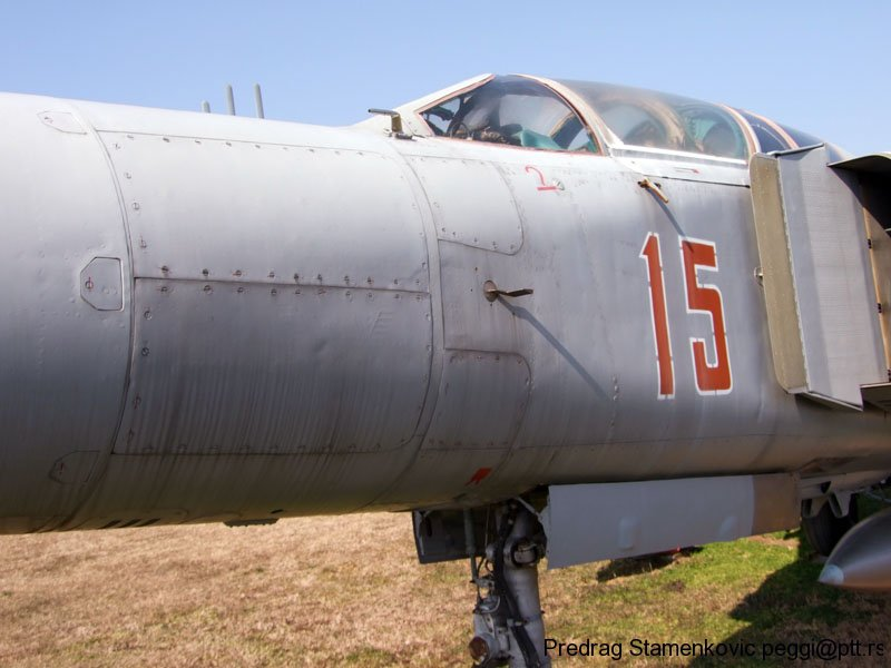 MIkoyan & Gurevich Mig 23 Hungarian Air Force , details for