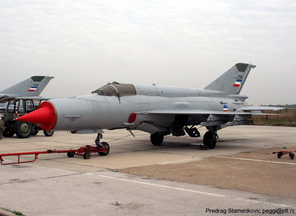 Mig 21 Serbian Air Force