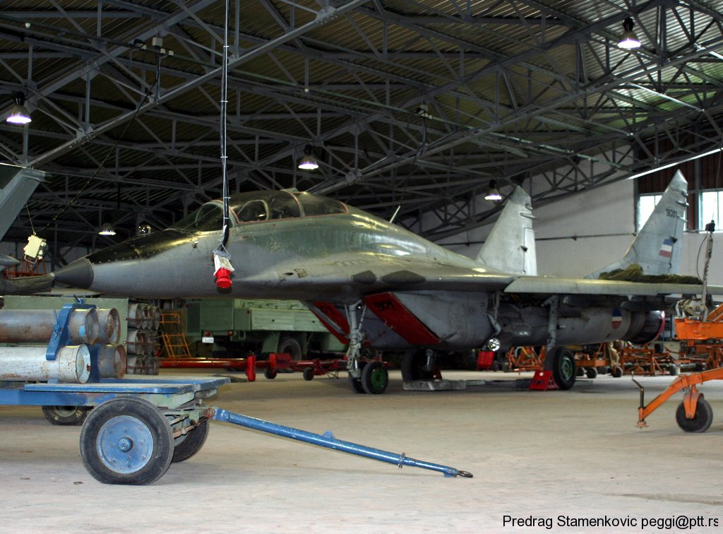 Mig 29 Serbian Air Force