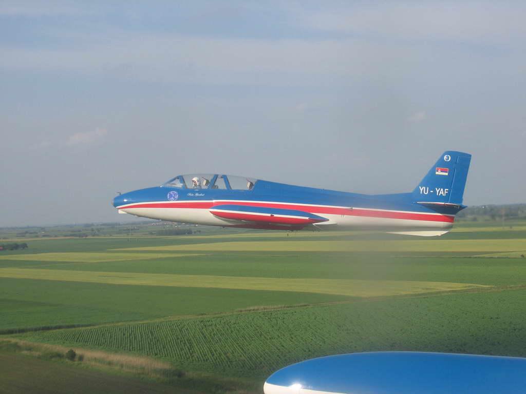 Soko G-2 GAleb Yugoslav Air Force YU-YAF