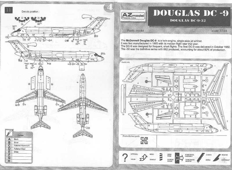 DC9 Yugoslovenski Aerotransport YU-AHT
