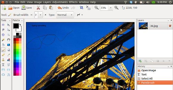 Pinta – A Simple, Cross Platform Free Image Editing Software