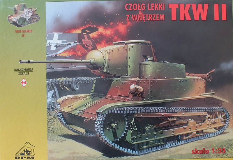 TKW tankete TKW II , Scale model RPM 1/35
