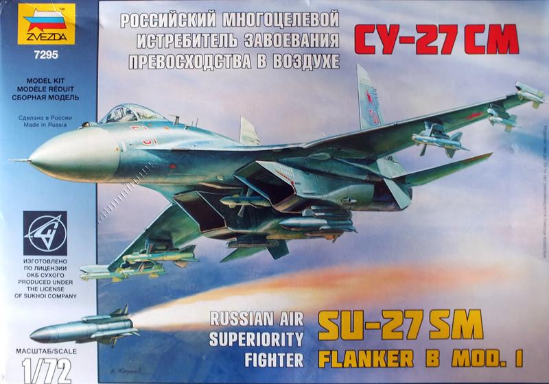 Su-27 Sm  Flanker B mod. 1 Zvezda 1/ 72