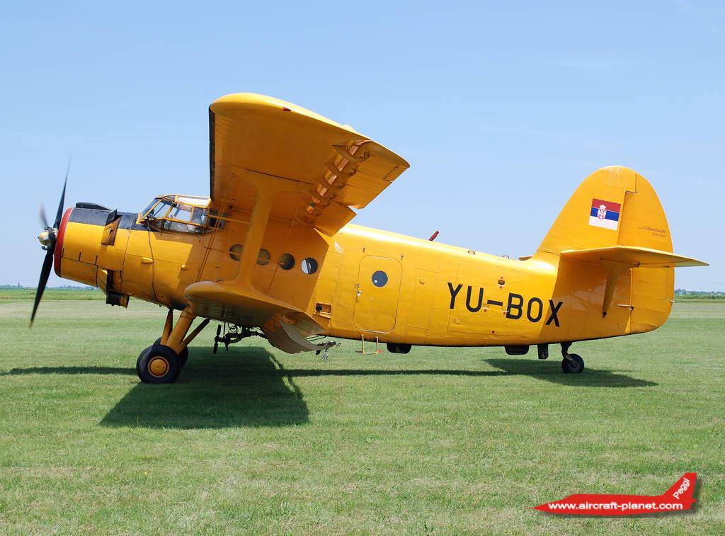 Antonov An2, YU-BOX,Ciklonizacija Novi Sad