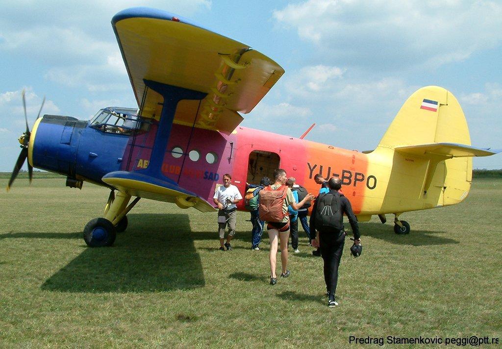 Pripreme za Skok Antonov An2