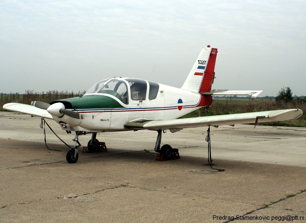 Utva 75 Serbian Air Force