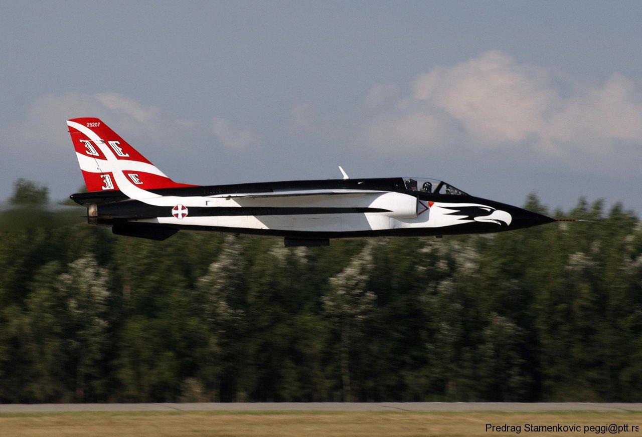 Soko J22 Orao Yugoslav Air Force 25207