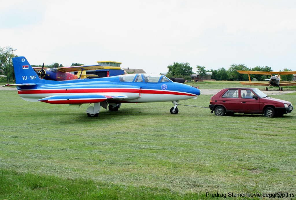 Soko G-2 GAleb YU-YAF Aerobatic Team STARS