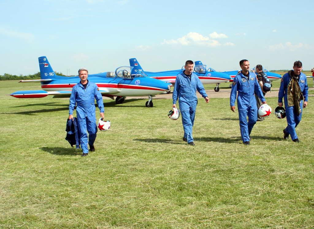 Soko G-2 GAleb YU-YAD Aerobatic Team STAR