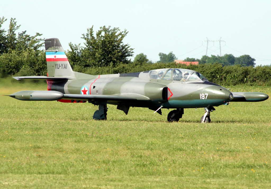 Soko G-2 GAleb YU-YAI Yugoslav Air Force