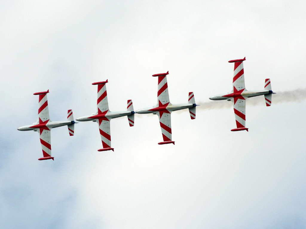 Aerobatic Team STARS Soko G-2 GAleb YU-TAD
