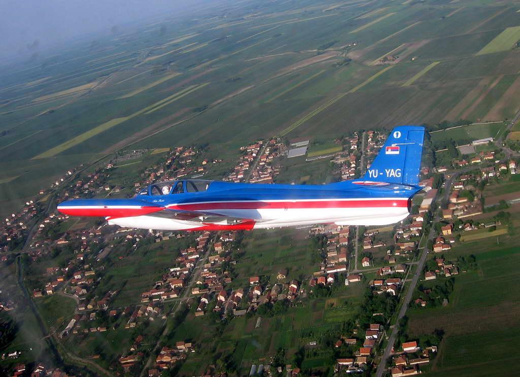Soko G-2 GAleb Yugoslav Air Force YU-YAG